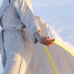 KASTE bathrobe and USVA towel