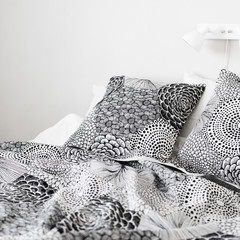 RUUT blanket and pillow cover