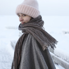 HETA scarf, CORONA UNI poncho