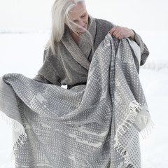 MESI wool blanket, KIVI bathrobe