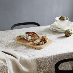 RUUT tablecloth and MONO towel