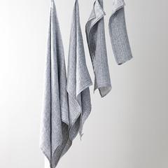 METSÄ towel white-grey