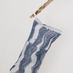 Lapuan Kankurit Aallonmurtaja sauna-pillow blue