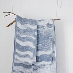 Lapuan Kankurit Aallonmurtaja towel blue