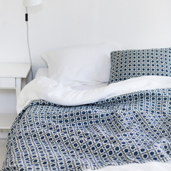 CORONA blanket rainy blue