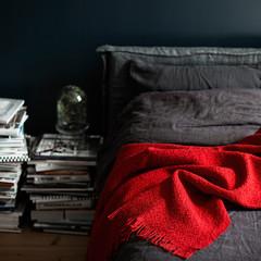 CORONA UNI blanket red