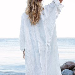 KASTE bathrobe white