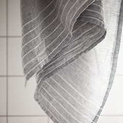 KASTE towel grey-white