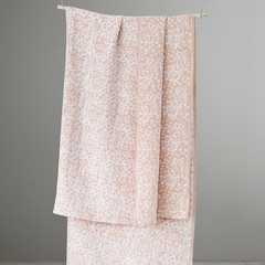 Niitty tablecloth-blanket white-rust