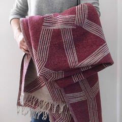Himmeli blanket bordeaux