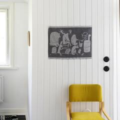 lapuan kankurit ELAINTEN SAUNA sauna cover white-black-linen