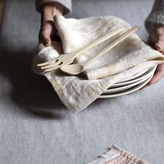 Lapuan Kankurit TULPPAANI towel white-gold