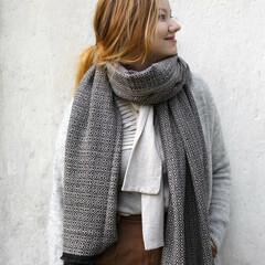lapuan kankurit KOLI scarf beige-black