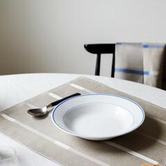 lapuan kankurit Linnea linen tablemat linen-white