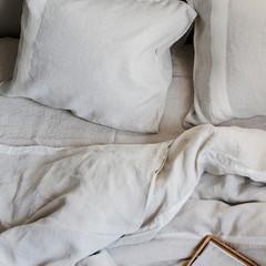 USVA pillow case linen-white