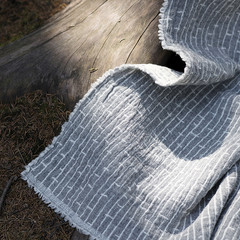 METSA blanket light grey