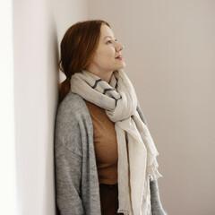 lapuan kankurit USVA scarf linen-grey