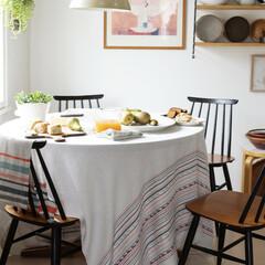 lapuan kankurit watamu linen tablecloth grey-bordeaux