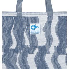 lapuan kankurti AALLONMURTAJA bag white-blue #nocrop