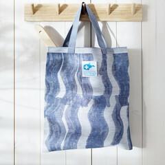 lapuan kankurit AALLONMURTAJA bag white-blue #nocrop
