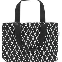 Eskimo bag white-black
