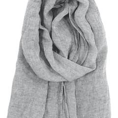 lapuan kankurit halaus linen scarf grey #nocrop