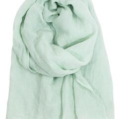 Lapuan kankurit Halaus linen scarf mint #nocrop