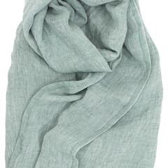 Lapuan kankurit Halaus linen scarf forest green #nocrop