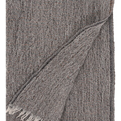 HETA scarf grey-orange