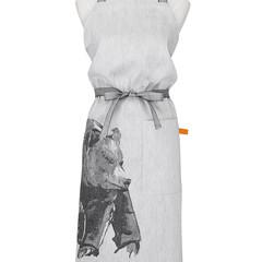 Karhu x Teemu Järvi apron white-black #nocrop