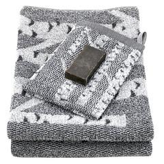 KOIVU wash mitten white-black