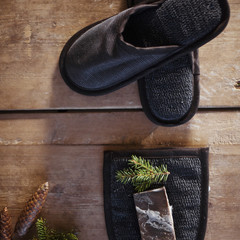 ONNI slippers black-graphite