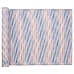 Lapuan Kankurit POLKU table runner rose-blue-cinnamon