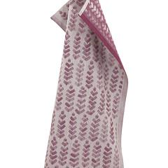 RUUSU x HVITTRÄSK towel linen-bordeaux #nocrop
