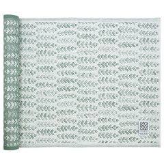 RUUSU x HVITTRÄSK seat cover white-aspen green #nocrop