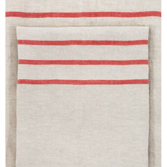USVA towel linen-red #nocrop