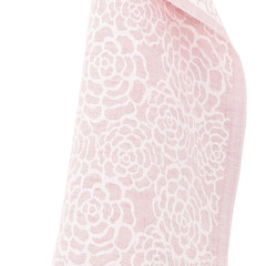 Zinnia towel white-coral