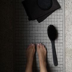 Lapuan Kankurit LASTU sauna cover linen-black