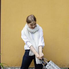 lapuan kankurit LEMPI scarf melange white KOIVU bag