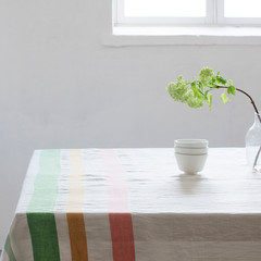 Meru tablecloth/blanket white-multi