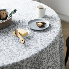 Lapuan Kankurit NIITTY tablecloth white-grey