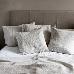 RUUT cushion cover white-linen
