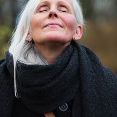 CORONA UNI scarf dark grey