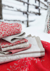MISTELI towels and runners