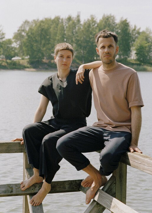 Kaksikko Salla Luhtasela and Wesley Walters, photography Mickael Vis