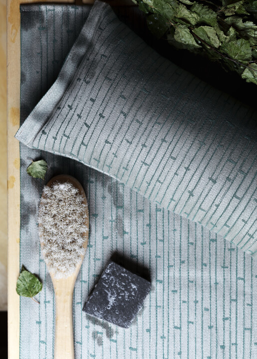 lapuan kankurit Metsä sauna cover and sauna pillow