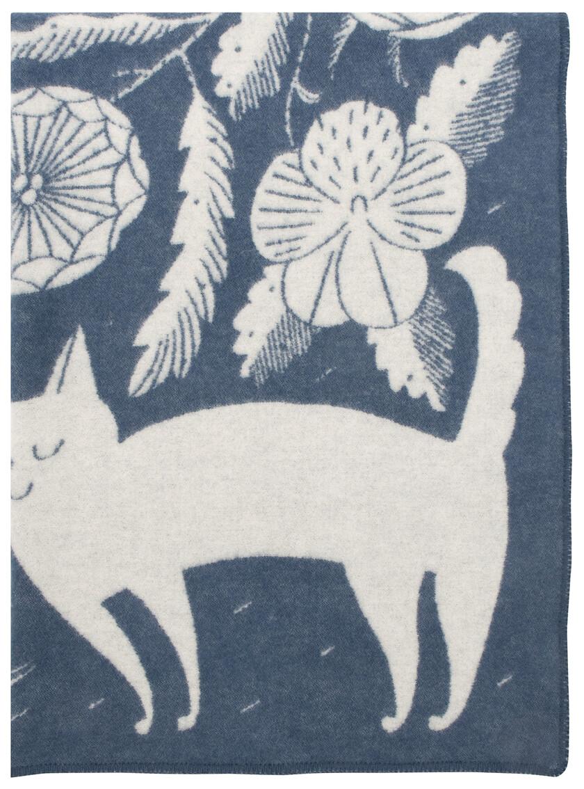 KOIRA JA KISSA wool blanket | Lapuan Kankurit